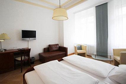 Doppelzimmer Hotel Uhland