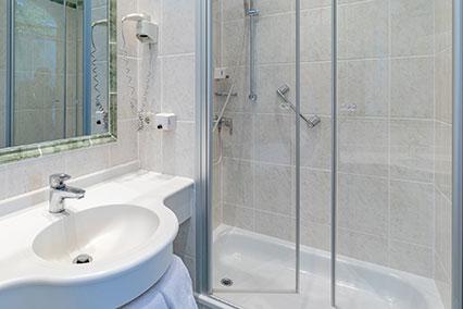 Badezimmer Hotel Uhland