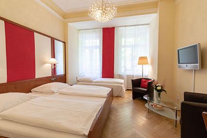 Familienzimmer Hotel Uhland